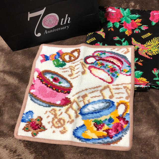 FEILER(フェイラー)のFEILER タオルハンカチ 新品 レディースのファッション小物(ハンカチ)の商品写真