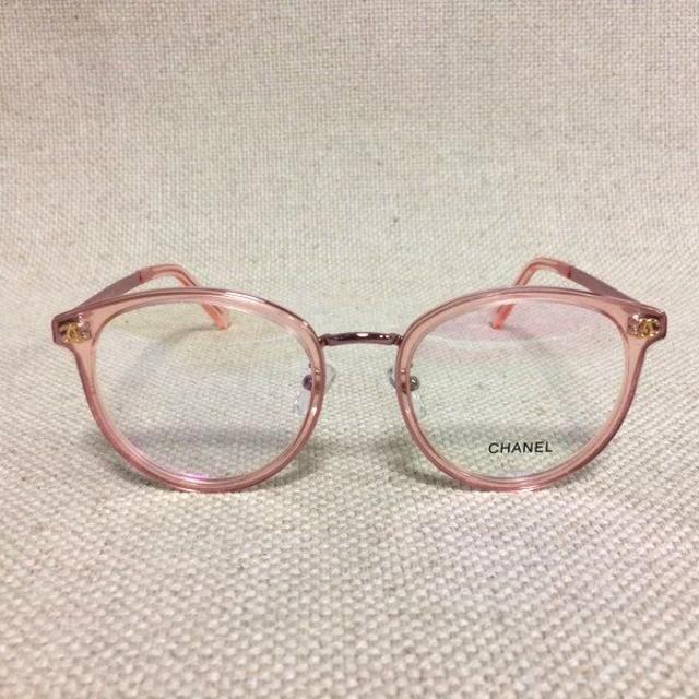 CHANEL(シャネル)のシャネル/CHANEL 眼鏡 メガネ ピンク/ピンク クリア 2132 レディースのファッション小物(サングラス/メガネ)の商品写真