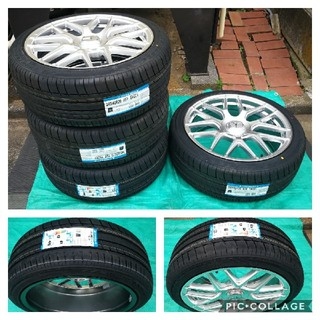 ベンチ(Bench)の新品 タイヤホイール4本セット ベンツ Vクラス W447 5318 20インチ(タイヤ・ホイールセット)