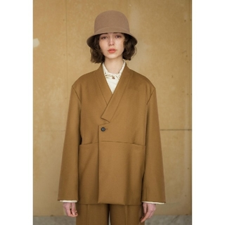 SUNSEA - 定価¥22,000 Anitya Bell Hat アニティア ベルハット