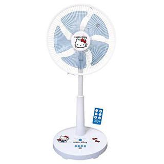 ハローキティ(ハローキティ)のDCリビング扇風機 ハローキティーホワイト(扇風機)