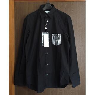 Maison Martin Margiela - 19AW新品44%off メゾンマルジェラ ポプリン 長袖シャツ 今期 ブラック