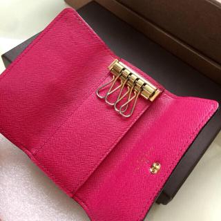 LOUIS VUITTON - 正規品ルイヴィトンキーケース 濃いめピンク色