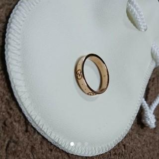 グッチ(Gucci)のGUCCI グッチ リング K18 ピンクゴールド(リング(指輪))