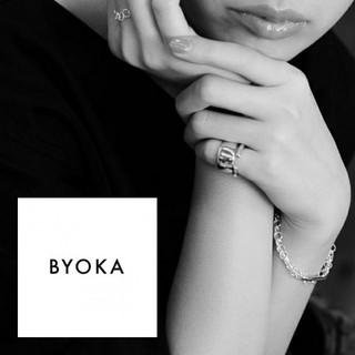 ビューティアンドユースユナイテッドアローズ(BEAUTY&YOUTH UNITED ARROWS)のBYOKA ビョーカ ピンキー リング #7 シルバー925 ぷっくり(リング(指輪))