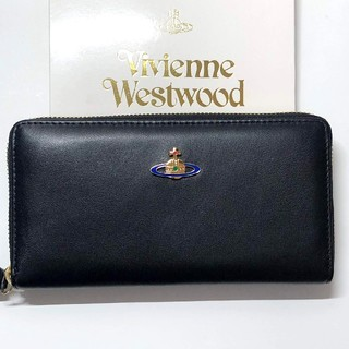 Vivienne Westwood - 新品 ヴィヴィアン Vivienne Westwood 正規品 長財布 ブラック