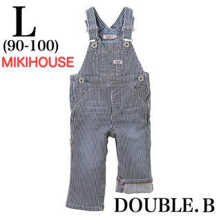 DOUBLE.B - ミキハウス DOUBLE.B ビーくん オーバーオール