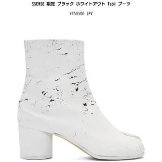 マルタンマルジェラ(Maison Martin Margiela)のsneaker&apparel様専用 margiela ペンキ 足袋(ブーツ)