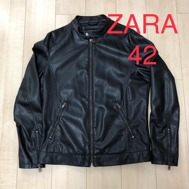 ZARA(ザラ)の早い者勝ち‼️【美品】ZARA ライダースジャケット  メンズのジャケット/アウター(ライダースジャケット)の商品写真