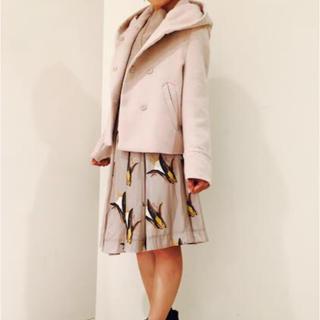 ココディール(COCO DEAL)のフード付き  ショート  コート(毛皮/ファーコート)