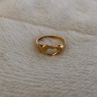 指輪 リング ハート K18(リング(指輪))