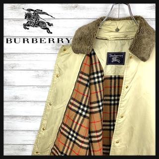 バーバリー(BURBERRY)の【激レア】バーバリー☆ライナー付きキルティングジャケット 総柄 高級カラー(ブルゾン)