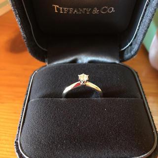 Tiffany & Co. - お値下げ中❣️ダイヤモンドリング0.2カラット💍