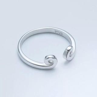 0144 個性派 オープンリング シルバーリング(リング(指輪))