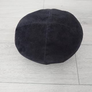 マーガレットハウエル(MARGARET HOWELL)のSUEDE BERET(ハンチング/ベレー帽)