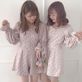 one after another NICE CLAUP - 新品未使用♡完売品【titiy by niceclaup】 ミニロンパース