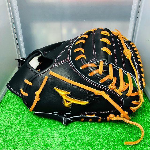 MIZUNO(ミズノ)のミズノプロ 硬式オリジナルオーダーキャッチャーミット 嶋モデル型 スポーツ/アウトドアの野球(グローブ)の商品写真