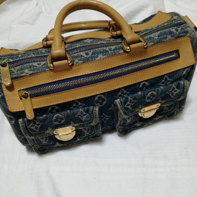 LOUIS VUITTON(ルイヴィトン)のルイヴィトン ネオスピーディ デニム モノグラム レディースのバッグ(ハンドバッグ)の商品写真
