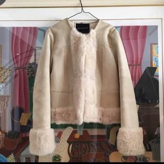 ダブルスタンダードクロージング(DOUBLE STANDARD CLOTHING)のムートンコート(ムートンコート)