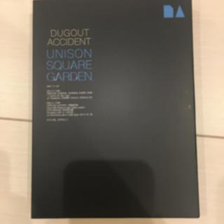 ユニゾンスクエアガーデン(UNISON SQUARE GARDEN)のDUGOUT ACCIDENT unison 限定盤 DVD ブックレット付き(ポップス/ロック(邦楽))