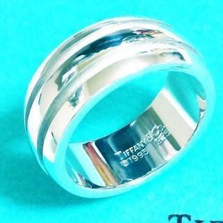 ティファニー(Tiffany & Co.)の☆新品☆未使用☆Tiffany&Co. ティファニー ラインリング8号(リング(指輪))