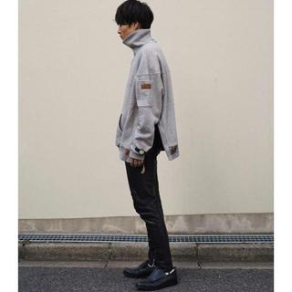 サンシー(SUNSEA)のSUNSEA 19AW SHELL WING-TIP SHOES【27~28】(ドレス/ビジネス)