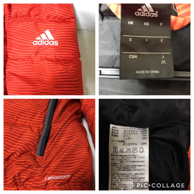 adidas(アディダス)のadidas  ダウンジャケット メンズLサイズ メンズのジャケット/アウター(ダウンジャケット)の商品写真