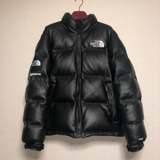 Supreme - 【本日限定!】supreme northface leather nuptse