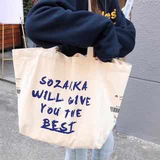 ❀ トートバッグ 肩掛けバッグ A4サイズ ハンドバッグ 大容量 通学 旅行(トートバッグ)