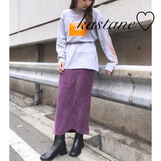 Kastane - 今季♡カスタネ♡キュプラIラインスカート2