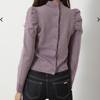 rienda - 最終処分価格‼️リエンダ Shiny Puff Shoulder KnitTOP