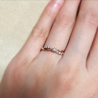 ヨンドシー(4℃)のカナル 4℃ k10 ピンクゴールド リング ディズニー コラボ ∞ デザイン(リング(指輪))