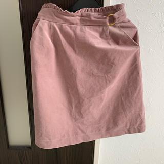 マジェスティックレゴン(MAJESTIC LEGON)のベロアタイトスカート(ひざ丈スカート)
