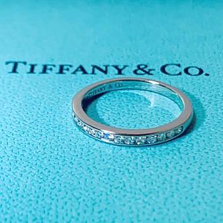 ティファニー(Tiffany & Co.)のティファニー  ハーフエタニティ ダイヤモンド リング(リング(指輪))