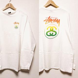 ステューシー(STUSSY)のSTUSSY ロンT 長袖 Tシャツ ラスタカラー XL SS LINK old(Tシャツ/カットソー(七分/長袖))