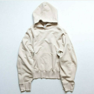 サンシー(SUNSEA)のstein OVERSIZED REBUILD SWEAT HOODED【M】(パーカー)