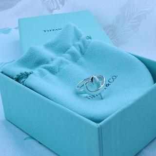 ティファニー(Tiffany & Co.)の☆新品☆未使用☆Tiffany&Co. ティファニー ラビングハートリング8号(リング(指輪))