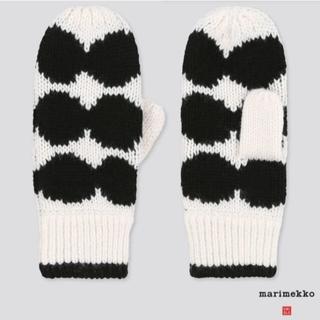 マリメッコ(marimekko)のユニクロ マリメッコ レディース用手袋(手袋)