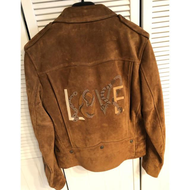 Saint Laurent(サンローラン)の定価80万位 サンローランLOVEスタッズL01ライダースジャケット 新品! メンズのジャケット/アウター(ライダースジャケット)の商品写真
