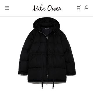ミラオーウェン(Mila Owen)のタグ付き未使用 [MilaOwen]ミラ オーウェン ウエストリボンダウンコート(ダウンジャケット)