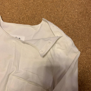 ENFOLD - エンフォルドENFOLD白シャツ38