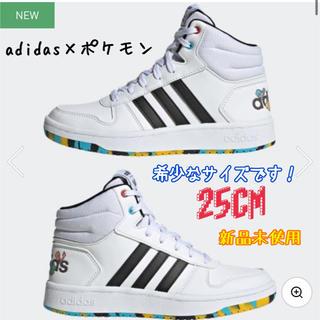adidas - adidas×ポケモン コラボスニーカー👟ミッドカットシューズ