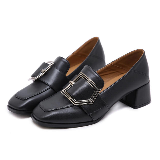 dholic(ディーホリック)のsappun風 bigバックル2way ローファー レディースの靴/シューズ(ローファー/革靴)の商品写真