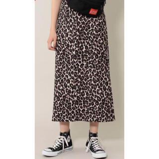 ROSE BUD - 新品未使用タグ付き ローズバッド  ロングタイトスカート レオパード スカート