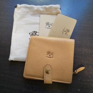 IL BISONTE - 新品 イルビゾンテ 本革 レザー ウォレット  財布 折り財布 ナチュラル ヌメ