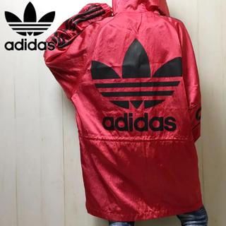 adidas - 0272 激レア!★アディダス ビッグロゴ メタリック ナイロンジャケット