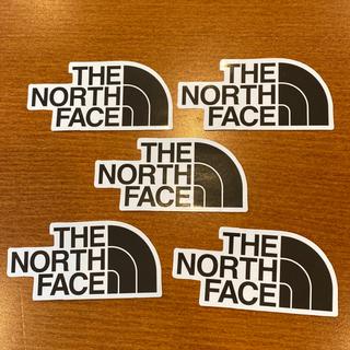 ザノースフェイス(THE NORTH FACE)のTHE NORTH FACE ロゴ ステッカー 5枚セット(シール)