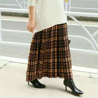 IENA - イエナ♡チェックプリーツスカート 36