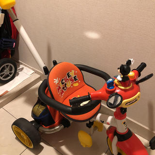 トイザラス(トイザらス)のミッキー 三輪車(三輪車)