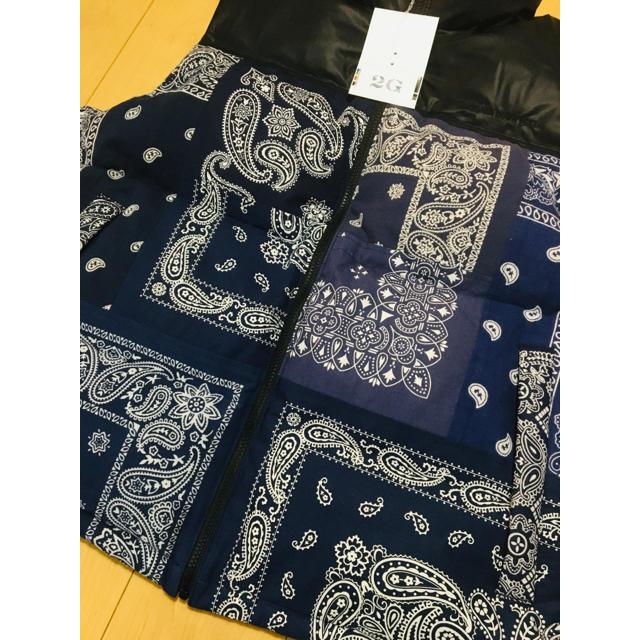 sacai(サカイ)のMIYAGIHIDETAKA Bandana Down Vest ミヤギヒデタカ メンズのジャケット/アウター(ダウンベスト)の商品写真